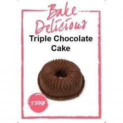 Bake Delicious - Triple Chocolate Cake