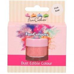 FunCakes - Edible FunColours Dust - Pink Rose