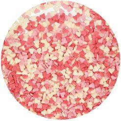 FunCakes - Mini Hartjes -Roze-Wit-Rood- 60g