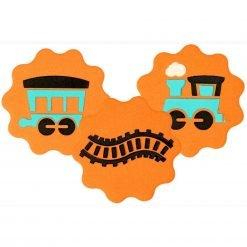 JEM Stencil Train Set