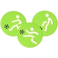 JEM Stencil Voetbal Set