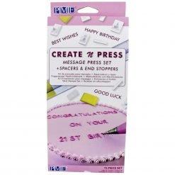 PME - Create & Press Message Set