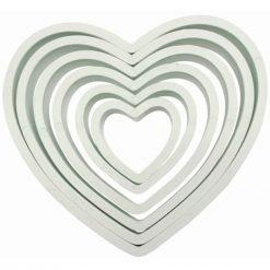PME Cutter Heart -set of 6