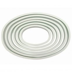 PME - Cutter Oval - set of 6