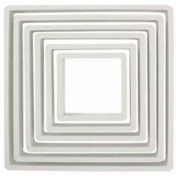 PME Cutter Square -set of 6
