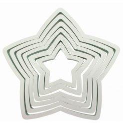 PME Cutter Star -set of 6