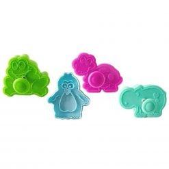 Silikomart - Mini Cookie Cutter - Funny Animals
