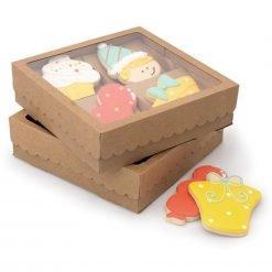 Sweet Sugarbelle - Four Cookie Box - Kraft