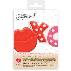 Sweet Sugarbelle - Lips and XO