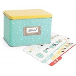 Sweet Sugarbelle - Recipe Card Tin