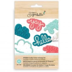 Sweet Sugarbelle - Words Cutter & Stamp Set