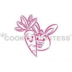The Cookie Countess - Carrot & Bunny Buddies PYO