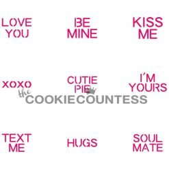 The Cookie Countess - Conversation Hearts