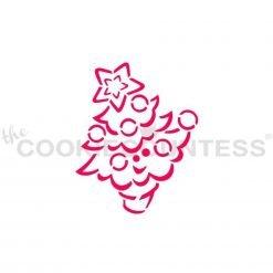 The Cookie Countess - Cute Christmas Tree PYO