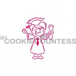 The Cookie Countess - Graduate Boy PYO