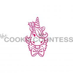 The Cookie Countess - Holiday Unicorn PYO