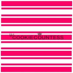 The Cookie Countess - Preppy Stripes