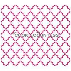 The Cookie Countess - Small Quatrefoil