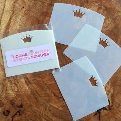 The Cookie Countess - Stencil Scraper 3pack