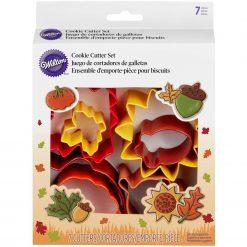 Wilton - Cookie Cutter Set Autumn