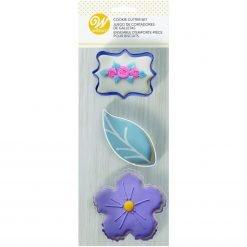 Wilton - Cookie Cutter Set Floral