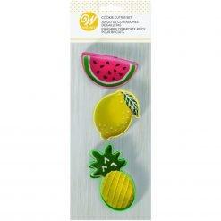 Wilton - Cookie Cutter Set Fruit