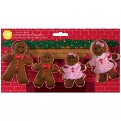 Wilton - Cookie Cutter Set - Gingerbread Set/4