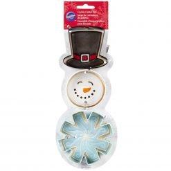 Wilton - Snowman Cookie Cutter Set - Set of 3